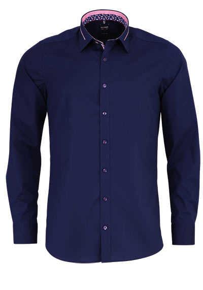 OLYMP Level Five body fit Hemd extra langer Arm nachtblau - Hemden Meister