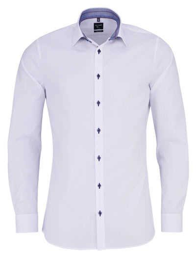 OLYMP No. Six super slim Hemd extra langer Arm weiß - Hemden Meister