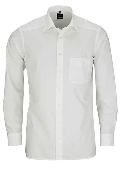 OLYMP Luxor modern fit Hemd extra langer Arm Popeline beige