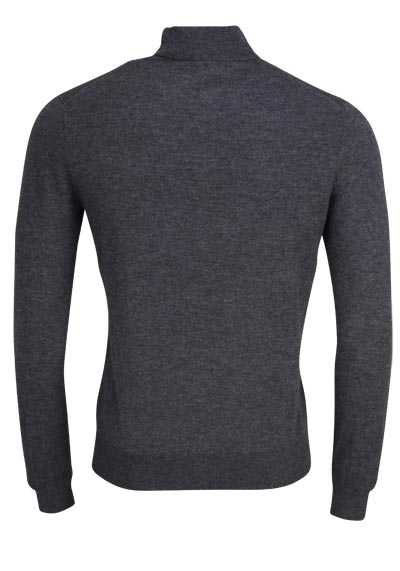 OLYMP Level Five Strick body fit Rollkragenpullover anthrazit