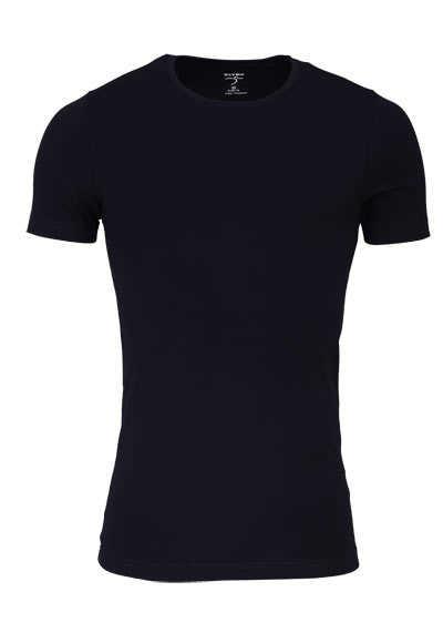 OLYMP T-Shirt Level Five body fit Halbarm mit Rundhals schwarz - Hemden Meister