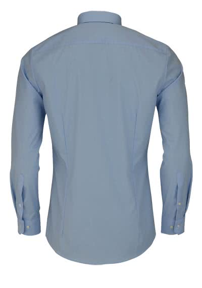OLYMP No. Six super slim Hemd Langarm Under-Button-Down hellblau