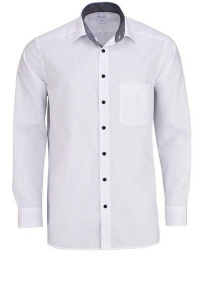OLYMP Luxor comfort fit Hemd Langarm mit Brusttasche weiß - Hemden Meister