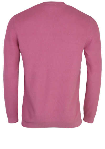 OLYMP Level Five Strick body fit Pullover Rundhals altrosa