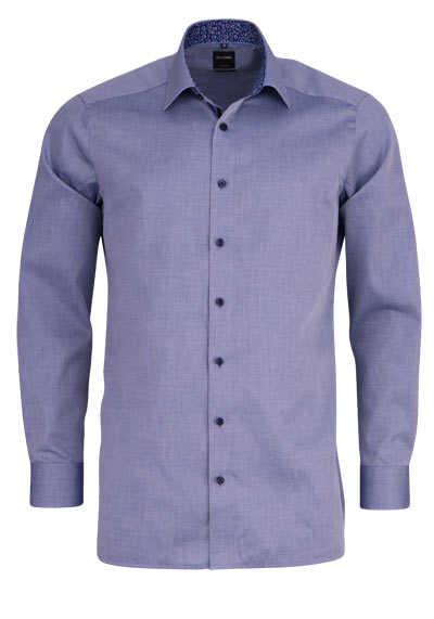 OLYMP Luxor modern fit Hemd extra langer Arm Struktur weiß AL 69 - Hemden Meister