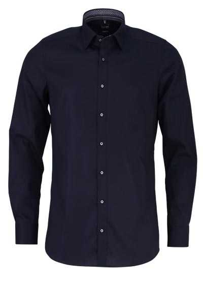 OLYMP Level Five body fit Hemd Langarm Stretch schwarz - Hemden Meister
