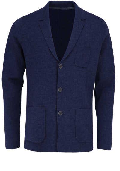 OLYMP Sakko Langarm mit Taschen Reverskragen dunkelblau - Hemden Meister