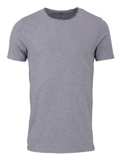 OLYMP Level Five T-Shirt Halbarm Rundhals Stretch mittelblau