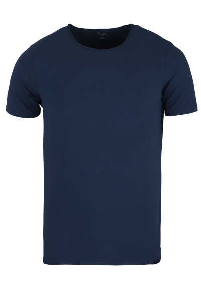 OLYMP Level Five T-Shirt Halbarm Rundhals Stretch petrol