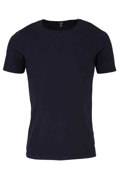 OLYMP Level Five T-Shirt Halbarm Rundhals Stretch schwarz