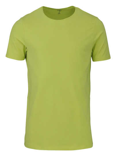 OLYMP Level Five T-Shirt Halbarm Rundhals Stretch zitronengelb