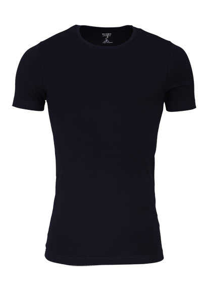 OLYMP T-Shirt Level Five body fit Halbarm mit Rundhals schwarz