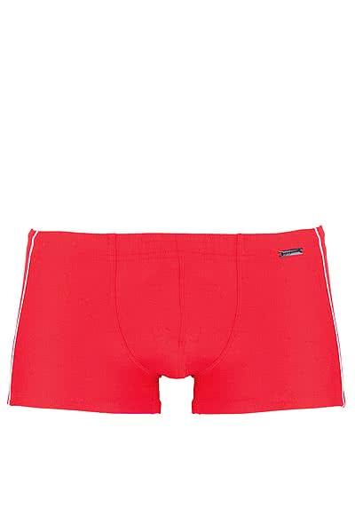 OLAF BENZ Beachpants mit Ziersteifern an der Seite rot - Hemden Meister