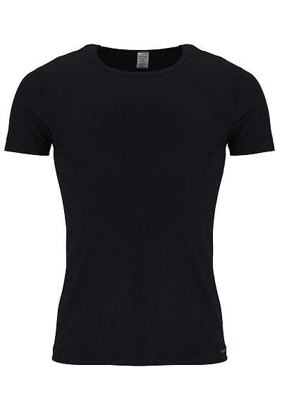 OLAF BENZ Halbarm T-Shirt Rundhals Baumwollmischung schwarz - Hemden Meister