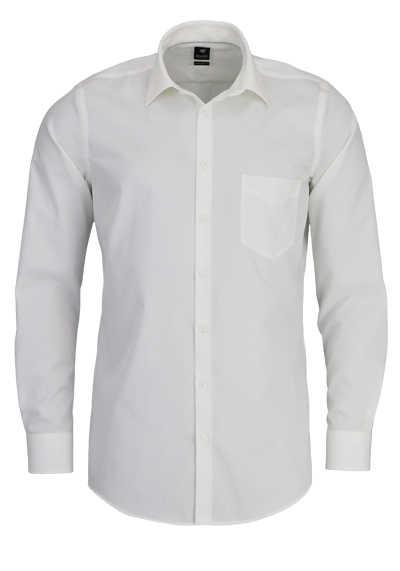 PURE Modern Fit Hemd Langarm New Kent Kragen Sportmanschetten beige