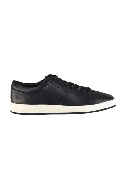 REPLAY Sneaker Schnürer Leder Logo-Prägung schwarz - Hemden Meister
