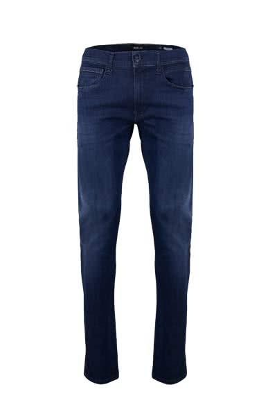 REPLAY Jeans GROVER Hyperflex Used dunkelblau - Hemden Meister