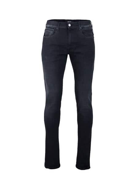 REPLAY Jeans GROVER Hyperflex Used anthrazit - Hemden Meister