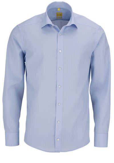 REDMOND Body Cut Hemd Langarm New Kent Kragen hellblau - Hemden Meister