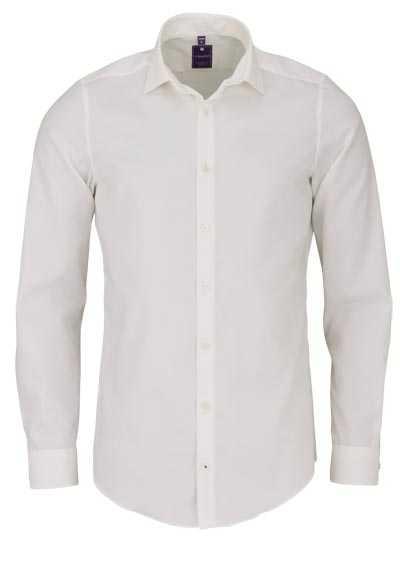 REDMOND 4 Limited Hemd Langarm Popeline Stretch beige