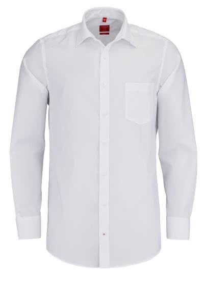 REDMOND Office Hemd Langarm mit New Kent Kragen weiß - Hemden Meister