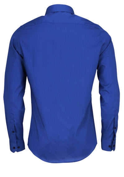 REDMOND 4 Limited Hemd Langarm Natural Stretch rauchblau