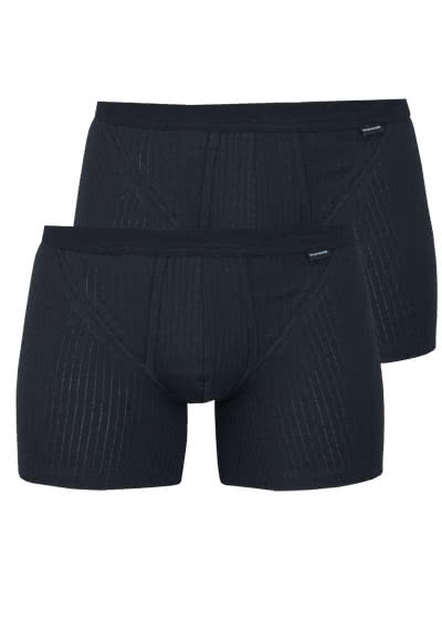SCHIESSER Shorts Essentials Authentic Doppelpack schwarz