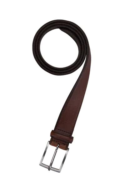 SCHUCHARD & FRIESE Business Herrengürtel 3,5 cm Leder cognac preisreduziert
