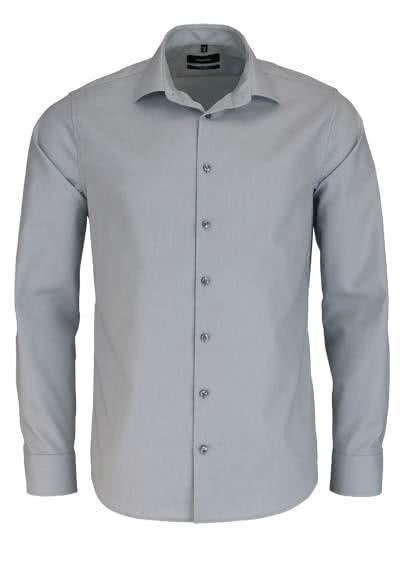 SEIDENSTICKER Tailored Hemd extra langer Arm hellgrau - Hemden Meister