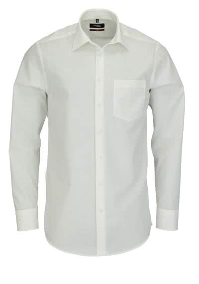 SEIDENSTICKER Modern Hemd Langarm New Kent Kragen Popeline beige - Hemden Meister