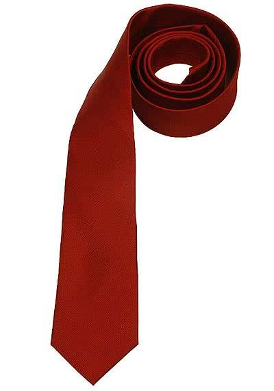 SEIDENSTICKER Krawatte aus reiner Seide 7 cm breit weinrot - Hemden Meister