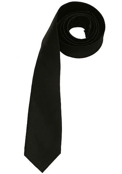 SEIDENSTICKER Krawatte aus reiner Seide 7 cm breit dunkelblau - Hemden Meister