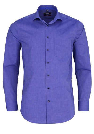 SEIDENSTICKER Modern Hemd extra langer Arm Haifischkragen dunkelblau - Hemden Meister