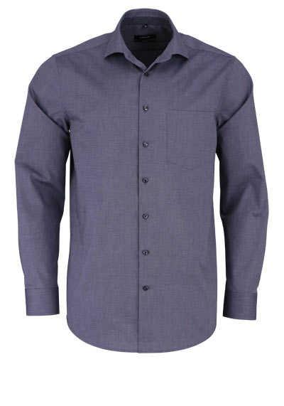 SEIDENSTICKER Modern Hemd extra langer Arm Haifischkragen dunkelgrau - Hemden Meister