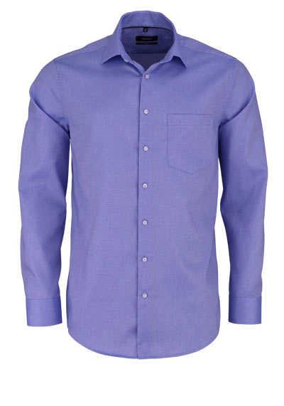 SEIDENSTICKER Modern Hemd extra langer Arm Struktur hellblau - Hemden Meister