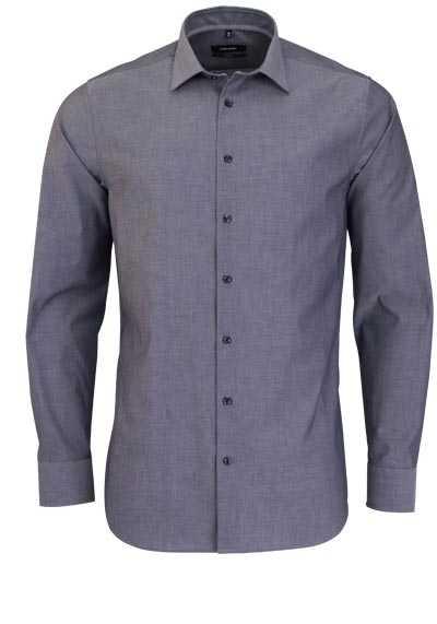 SEIDENSTICKER Tailored Hemd extra langer Arm New Kent Kragen mittelblau - Hemden Meister