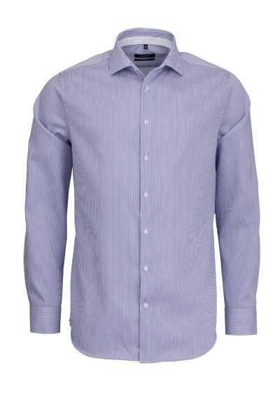 SEIDENSTICKER Tailored Hemd extra langer Arm Streifen hellblau - Hemden Meister