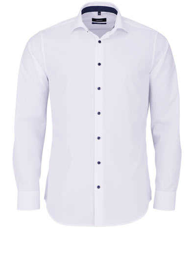 SEIDENSTICKER Tailored Hemd extra langer Arm Popeline dunkelblau - Hemden Meister