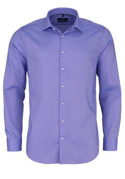 SEIDENSTICKER Tailored Hemd extra langer Arm Struktur hellblau - Hemden Meister