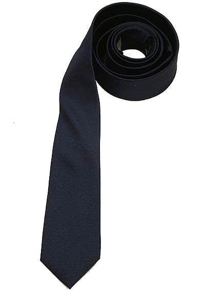 SEIDENSTICKER Krawatte aus reiner Seide 6 cm breit dunkelblau - Hemden Meister
