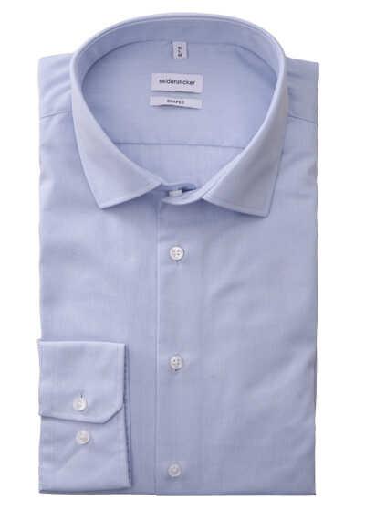 SEIDENSTICKER Tailored Hemd Langarm New Kent Kragen hellblau - Hemden Meister