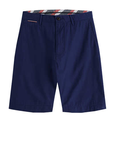 TOMMY HILFIGER Bermuda Shorts 5 Pocked Baumwolle navy