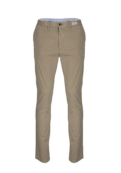 TOMMY HILFIGER Core Denton Straight Chino Hose beige