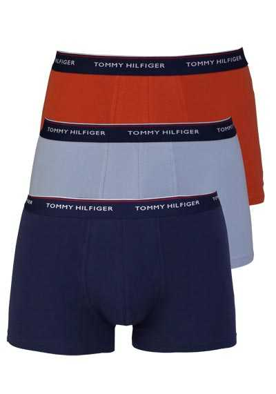 TOMMY HILFIGER Pants 3er Pack hellblau/orange/navy
