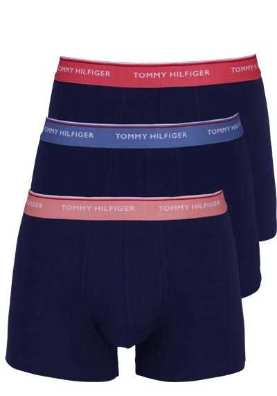 TOMMY HILFIGER Pants Gummibund Stretch 3er Pack midnight