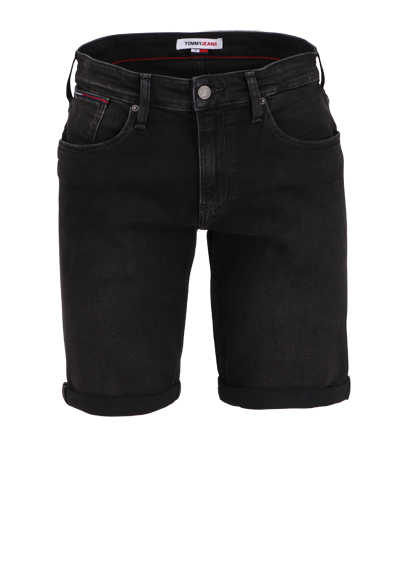 TOMMY JEANS Shorts RONNIE Button-Zipp-Verschluss 5-Pocket anthrazit