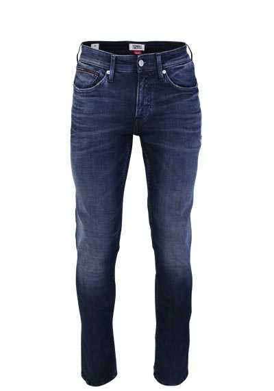 TOMMY JEANS Slim Fit Jeans Used 5 Pocket rauchblau