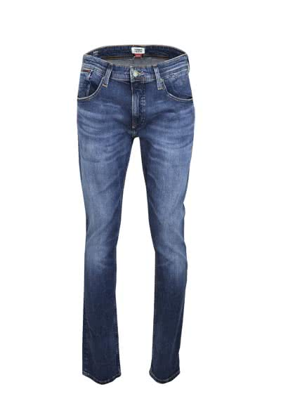 TOMMY JEANS Straight Jeans RONNIE Stretch mittelblau
