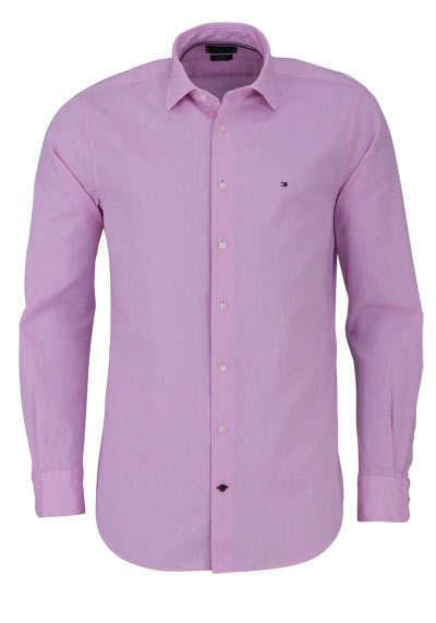 TOMMY TAILORED Regular Fit Hemd Langarm Muster rosa - Hemden Meister