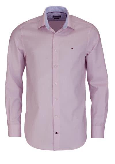 TOMMY TAILORED Regular Fit Hemd extra langer Arm Struktur hellrosa - Hemden Meister